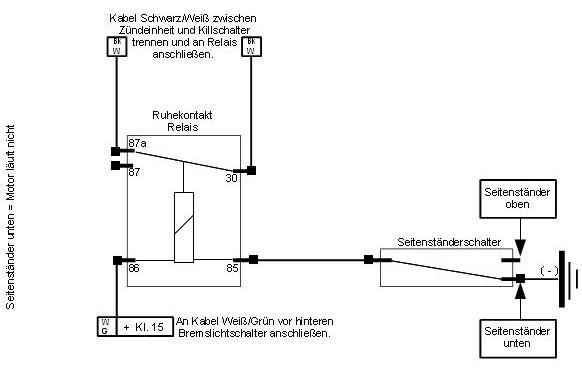 Seitenständer - Der CBX-Schrauber